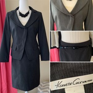 Kenneth Cole Skirt Suit